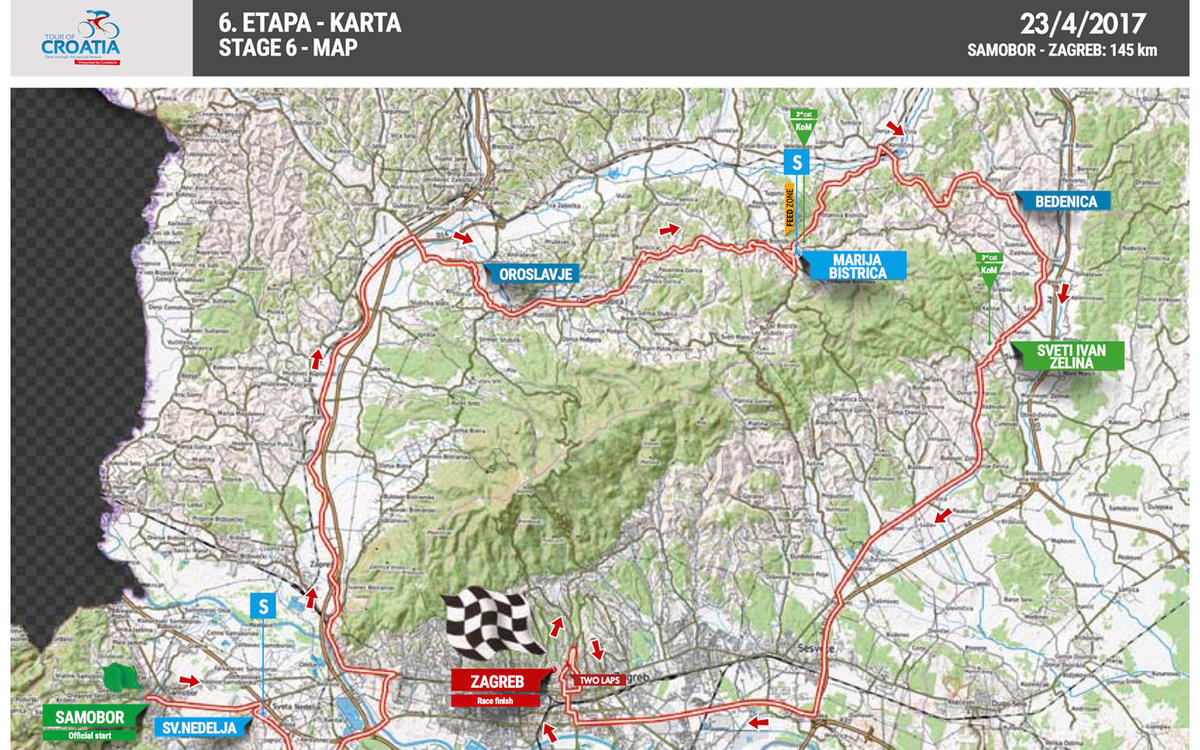 Stage 6 samobor zagreb 23042017 stages tour of croatia 2017 samobor zagreb altavistaventures Image collections