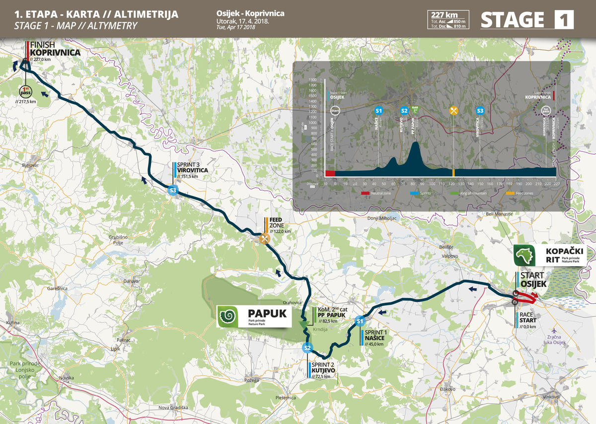 karta kutjeva Race Thread] 2018 Tour of Croatia Stage 1 (2.HC) : peloton karta kutjeva
